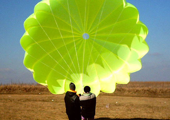Rescue parachute for paragliding, the price starts from 280 Euros