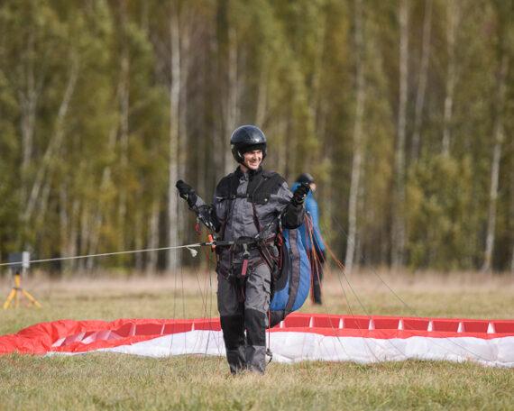 параплан обучение москва