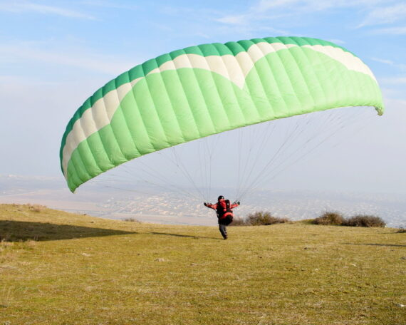 обучение полётам на параплане начинающих